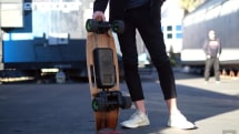 Cruising around on Riptide's $999 R1X electric skateboard