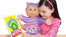 Cabbage Patch dolls with unsettling LCD eyes are now available
