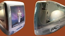 Barista-approved mod shoves a coffeemaker, Mac mini and subwoofer into an iMac DV case