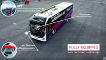 Singapore is testing Volvo's full-sized driverless buses