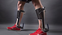 These exoskeleton heels could help stroke victims walk again