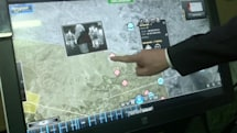 Giant tablet lets commanders control war with the swipe of a finger