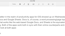 Google Docs and Sheets: A first look at the underpowered iOS apps