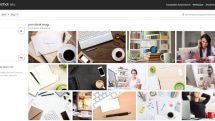 Shutterstock's composition photo search is powered by AI