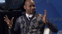 DJ Spooky backstage at Expand (video)