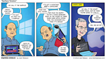 A comic predicted Apple's iPad Pro keyboard 3 years ago
