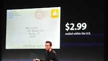 Cards app for iPhone sends snail mail best wishes, for a price