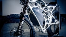 This freaky electric motorbike was 3D printed with metal powder