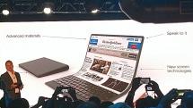 Lenovo laptop concept flexes like a yoga mat
