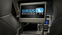 Sirius' retail SCV1 Backseat TV System now on sale