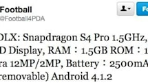 HTC DLX specs purportedly slip, stuff Snapdragon S4 Pro and 12MP camera into a 5-inch frame