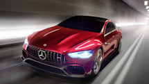 805HP GT Concept hints at the future of Mercedes hybrids