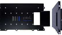 Piixl EdgeCenter 3770 media PC slides behind your flat panel, doesn't get the attention it deserves
