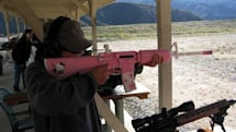 Hello Kitty AR-15 assault rifle makes you wish it was Photoshopped