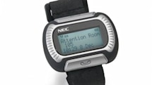 NEC M155 Messenger watch phone for healthcare, hospitality, and those without shame
