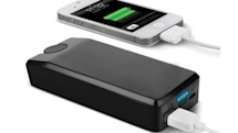 Hand crank charges iPhone, develops muscles