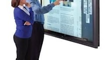 Perceptive Pixel unveils an 82-inch multi-touch LCD, TV news anchors overcome by giddy hands