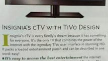 Best Buy Insignia cTV with DVR-less TiVo built-in launches July 31st