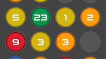 Combine Colors: Add the colors and mix the numbers