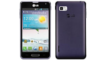 LG Optimus F3 for Sprint shows up in deep purple, predicts mild summer