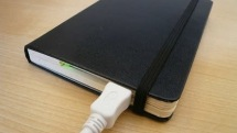 The Moleskine disk enclosure: a moveable geek feast