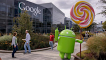 Sundar Pichai: Maybe we'll use a poll to name Android
