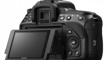 Sony Alpha A580 and A560 shoot AVCHD 1080i or MP4 video