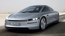 Volkswagen's XL1 concept plug-in diesel hybrid has 260MPG fuel efficiency, questionable aesthetics