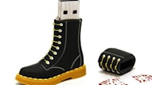 Doc Marten USB drive makes puppies look skinny, gristle throb
