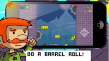 Daily iPhone App: Leaping Legends is a snarky endless runner from Everplay
