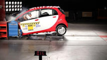 ADAC crash tests first production Mitsubishi i-MiEV, it makes a mess but scores well