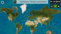 Plague Inc. spreads pulmonary fibrosis awareness through virtual contagion