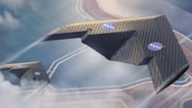 Researchers designed a shape-shifting airplane wing