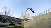 Assassin's Creed parkour in real-life parks, city centers