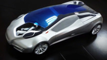 Fake car makes room for a fake ASIMO to be your fake driving companion