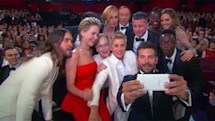 Samsung debuts its first Galaxy S5 ad during the Oscars and turns sponsorship dollars into all-star selfies