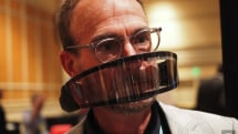 The Atmōs is an air filter for your face, if you can bear the bulk