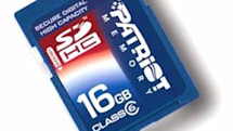 Patriot 16GB SDHC card hits retail