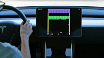 Tesla adds '2048' and Atari's 'Super Breakout' to its dashboards