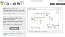 CircuitBee lets you share schematics, like Scribd for soldering aficionados