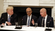 Amazon wants to question Trump over his role in the $10 billion DoD contract