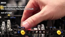 Apple engineer uses Lego to rebuild ancient Greek mechanism, will surely try to patent it (video)
