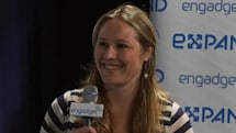 Indiegogo's Danae Ringelmann backstage at Expand (video)