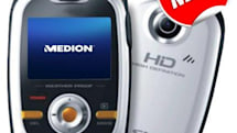 Medion's S47000 sports camera shoots HD video, ain't too pretty