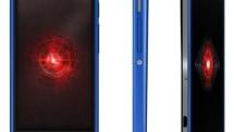 Verizon launches Droid RAZR HD and RAZR M in blue, sort of