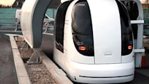 Heathrow taxi pods become a glorious, driverless reality