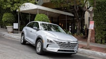 Behind the wheel of Hyundai's Nexo Fuel Cell EV