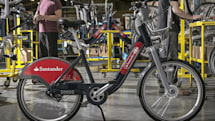 New-look Boris bikes start hitting London's street