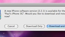 iPhone firmware update 2.2.1 brings minor stability improvements