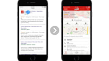 Google search on Safari mobile to display results for iOS apps